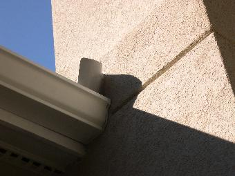 This Is An Example Of A Diverter Flashing Installation