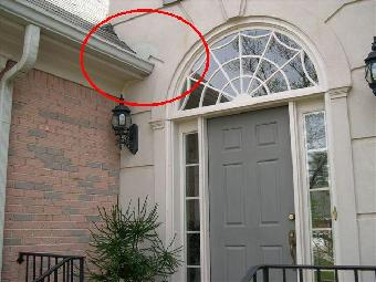 Improper Installation Of Diverter Flashing